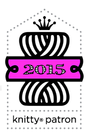 2015 Knitty Patron!